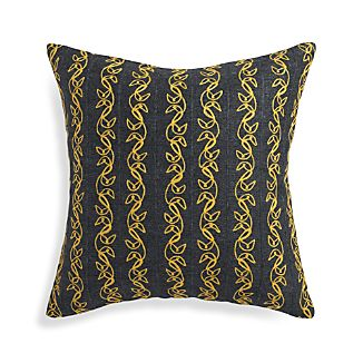 "Hazel Yellow 20"" Pillow"