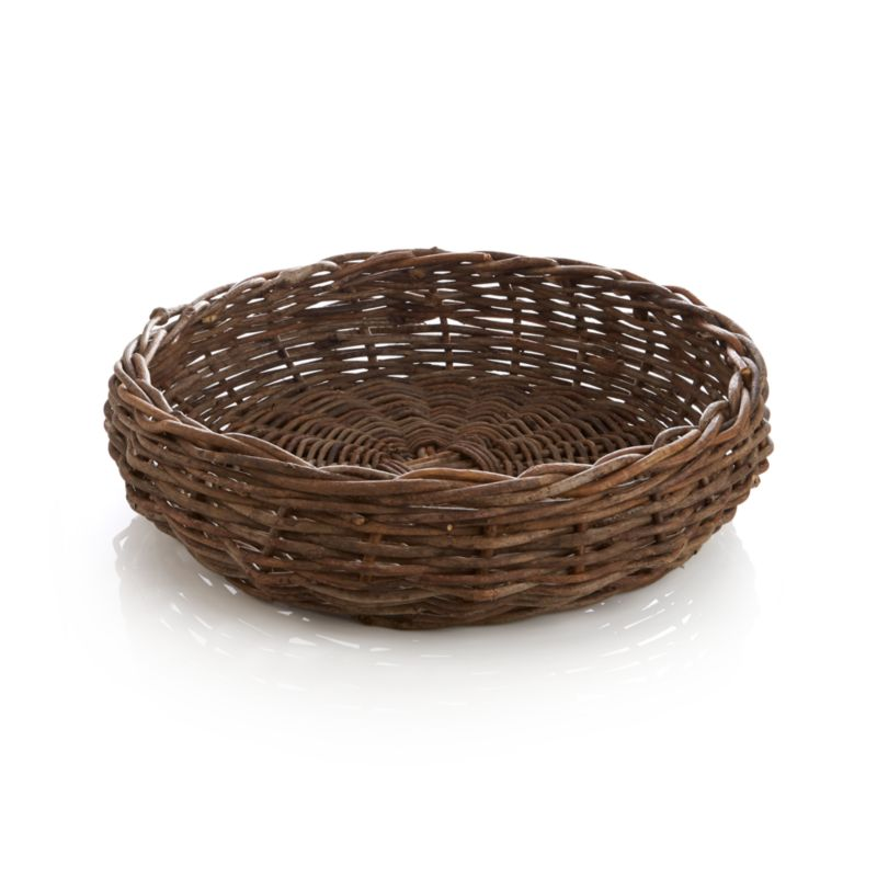 Woody bagobago vines weave rustic refinement for tabletop, kitchen island or hearth. Makes a ready breadbasket or fireside repository for kindling.<br /><br /><NEWTAG/><ul><li>Handwoven</li><li>100% bagobago vine</li><li>Clear lacquer finish</li><li>Food safe</li><li>Wipe with soft dry cloth</li><li>Made in The Philippines</li></ul>
