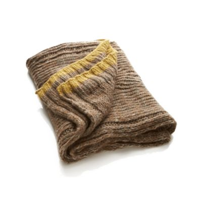 Heatherton Yellow Throw