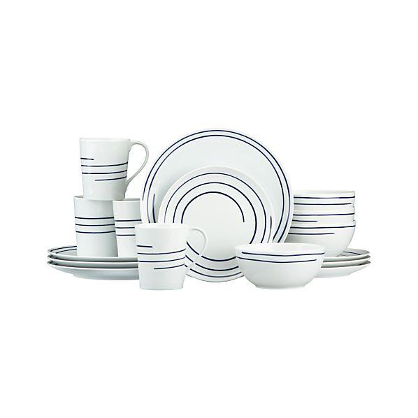 Helix 16-Piece Dinnerware Set