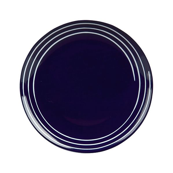 Helix Blue Salad Plate