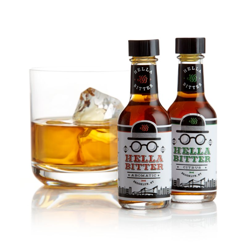 Hella Bitters Citrus and Aromatic Minis Set of Two