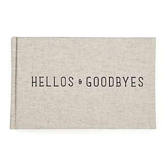Hellos And Goodbyes Notebook