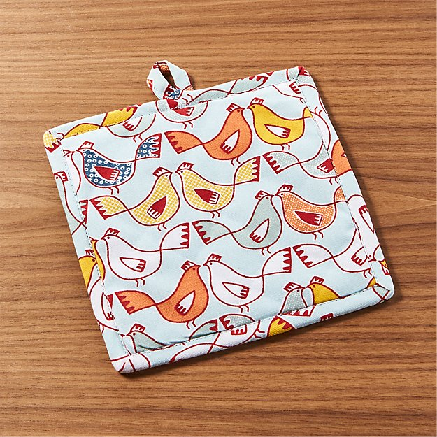 Hen House Potholder