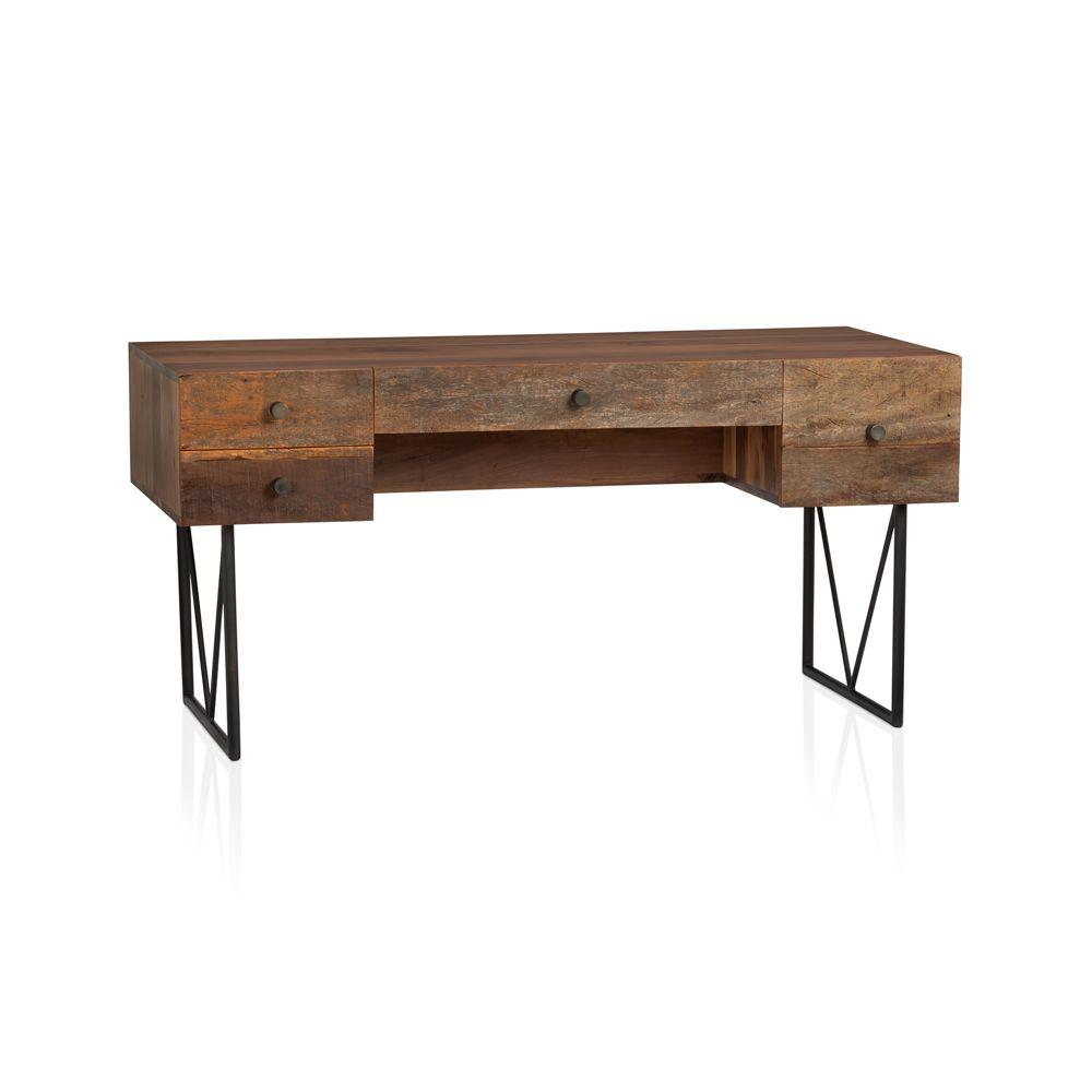 Furniture > Office Furniture > Office Desk > Rustic Office Desk