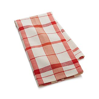 Herringbone Plaid Dish Towel