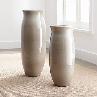 Hewett Ceramic Floor Vases