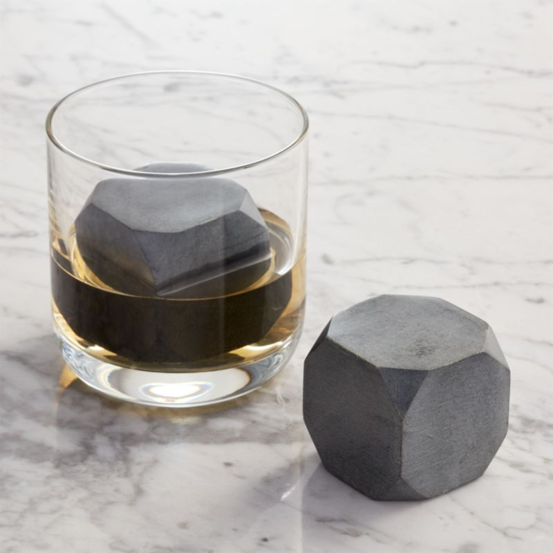 Set of 2 Whiskey Rocks Large