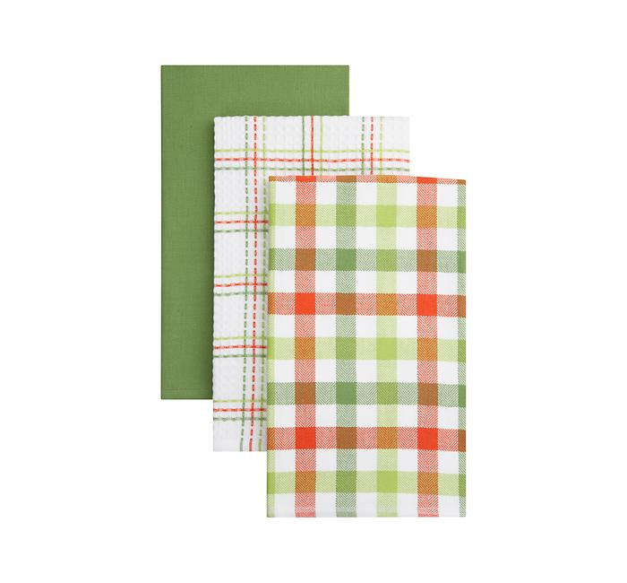 Crate and Barrel - Highland Dishtowels Set of Three shopping in Crate and Barrel Kitchen and Food