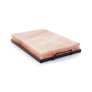 Himalayan Salt Block and Salt Block Holder