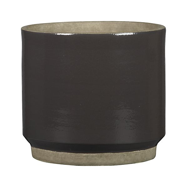 Himara Small Grey Planter