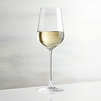 Hip White Wine Glass