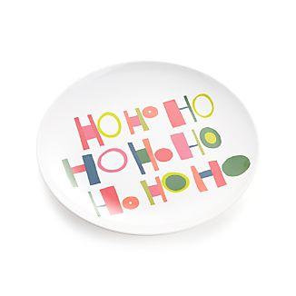 Ho Ho Ho Melamine Plate