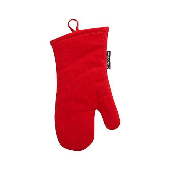 Holiday Crate and Barrel Oven Mitt