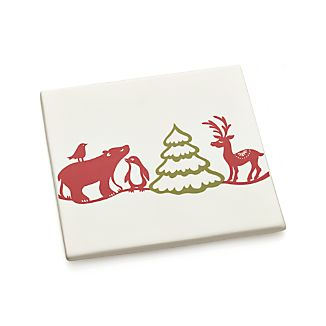 Holiday Critters Trivet