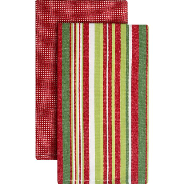 Set of 2 Holiday Dishtowels
