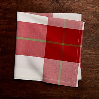 Holiday Plaid Napkin
