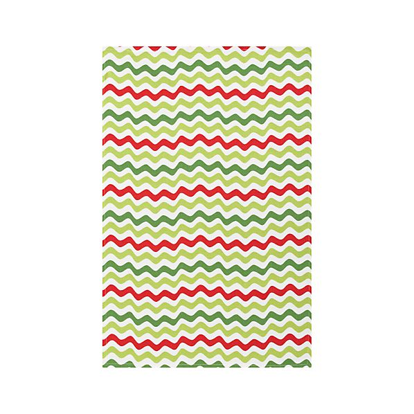 Holiday Ric Rac Dishtowel