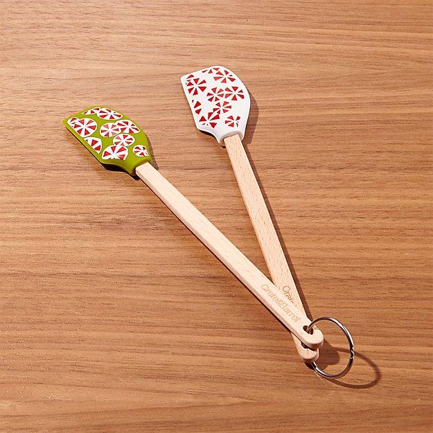 Holiday Sweets Mini Silicone Spatula Set of 2