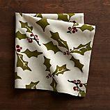 Holly Cotton-Linen Dinner Napkin
