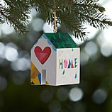 Home Sweet Home House Wooden Ornament