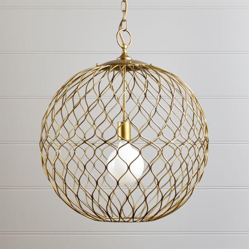 hoyne brass pendant chandelier pendant lighting