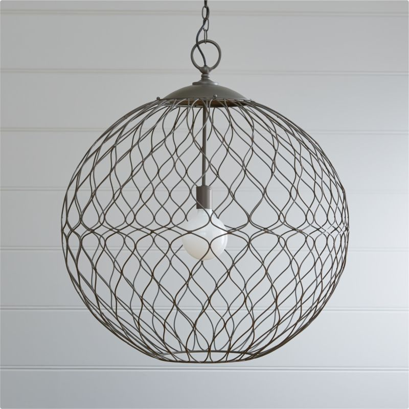 Hoyne Extra Large Pendant Crate And Barrel