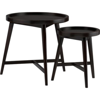 Set of 2 Hudson Round Nesting Tables