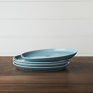 Set of 4 Hue Blue Salad Plates