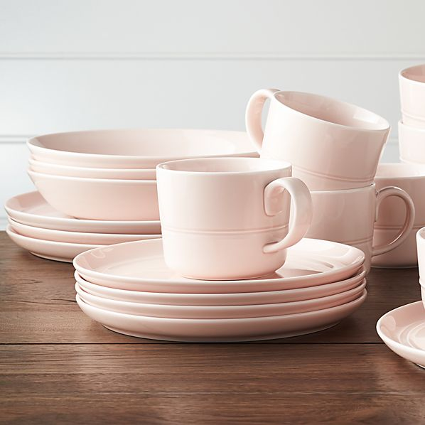 Hue Blush Dinnerware