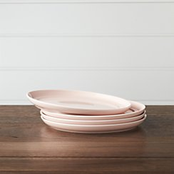 Set of 4 Hue Blush Salad Plates