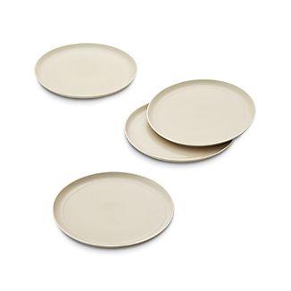 Set of 4 Hue Ivory Dinner Plates