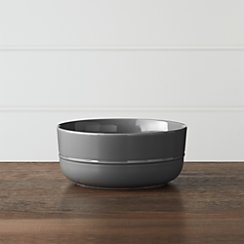 Hue Dark Grey Bowl