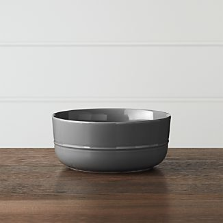 Hue Dark Grey Bowl