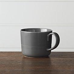 Hue Dark Grey Mug