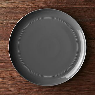 Hue Dark Grey Platter