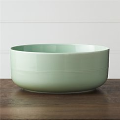 Hue Green Serving Bowl