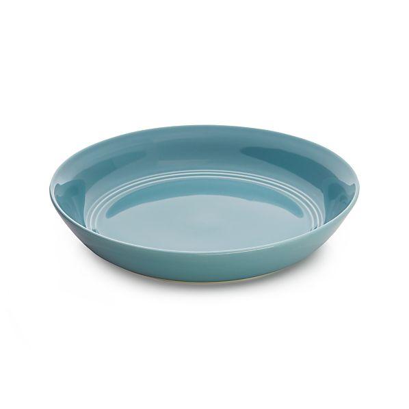 Hue Blue Low Bowl