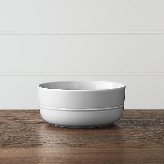 Hue Light Grey Bowl