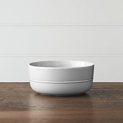 Hue Light Grey Bowl