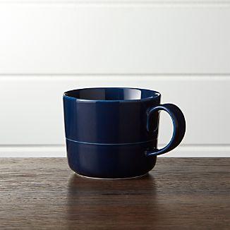 Hue Navy Blue Mug
