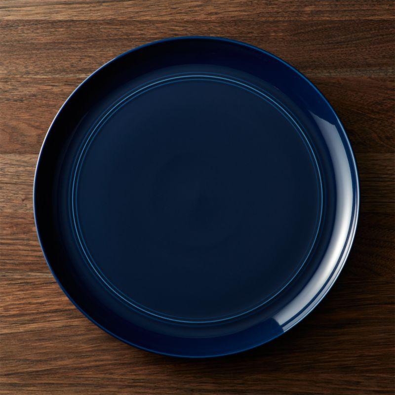 Hue Navy Blue Platter