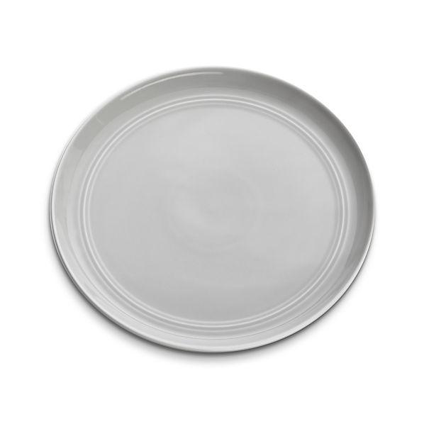 Hue Light Grey Salad Plate
