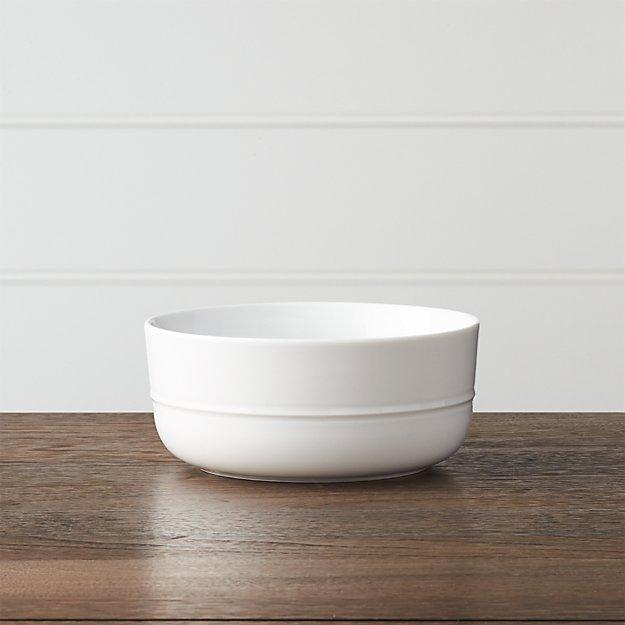 Hue White Bowl
