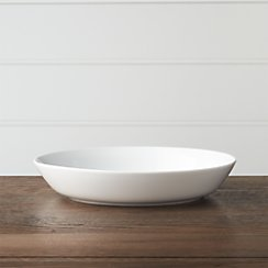 Hue White Low Bowl