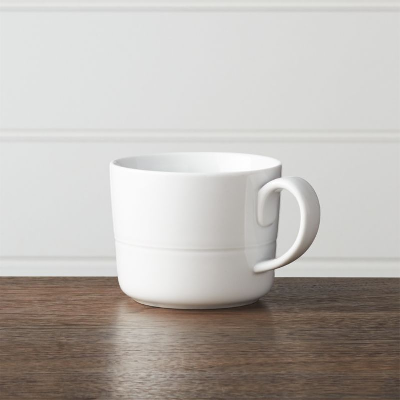 Hue White Mug Crate And Barrel