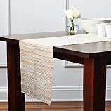 """Hyacinth Metallic 90"""" Table Runner"""