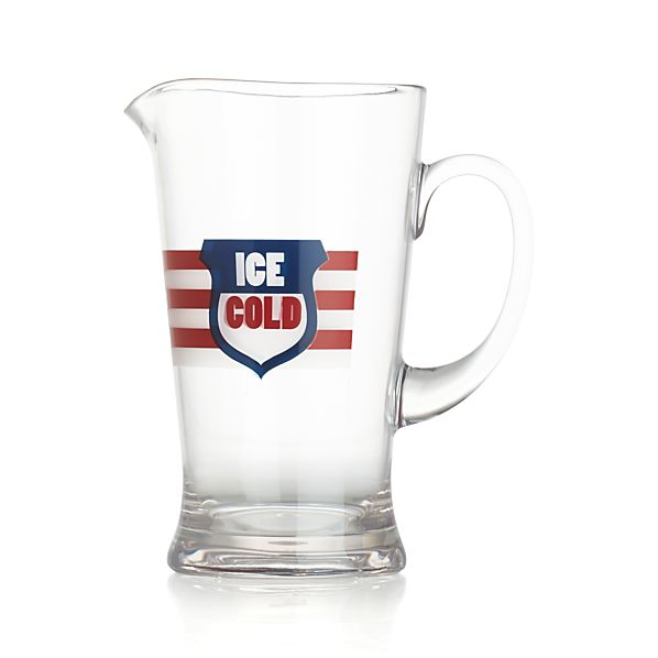 Ice Cold Acrylic Pitcher