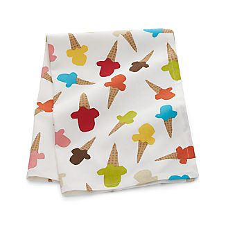 Ice Cream Dish Towel