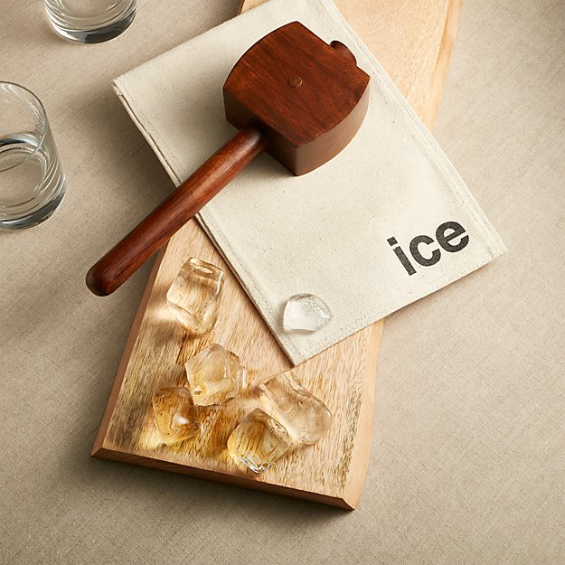 Ice Crusher Mallet with Bag